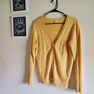 Merona Golden Yellow Cardigan